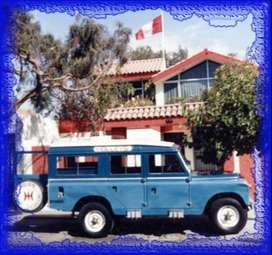 "Land Rover Defender 109 ""Clasic"" 1963 series IIA"