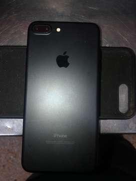 Iphone 7 plus negro mate 128 gb