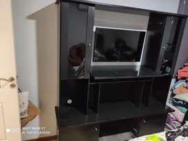 Mueble Rack Negro