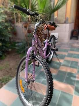 Vendo bicicleta de dama usada