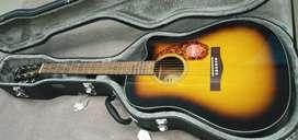 Guitarra fender electro acústica