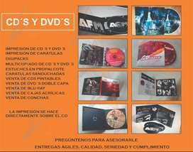 Impresión de cds y dvds directamente sobre el cd