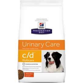 Concentrado para Perros cuidado urinario Hills Canino Urinary Care c/d 8.5 libras