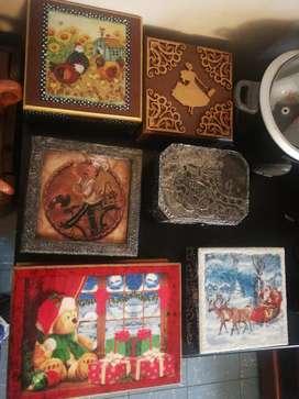 Caja de madera cofres servilleteros diferentes estilos diferentes precios navidad
