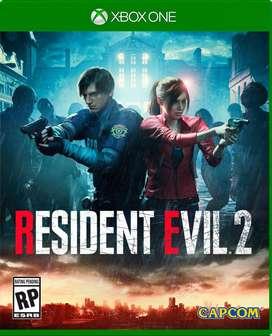 Resident Evil 2 Xbox One, Físico