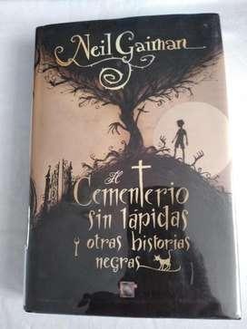 El cementerio sin lápidas y otras historias negras Neil Gaiman Libro