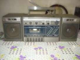 Radiograbador Unicef Af 7000sf Made In Japan Vintage Funcion