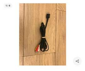 Cable audio y video PlayStation 2