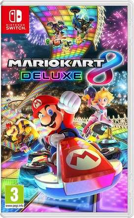 Juego Mario Kart 8 Deluxe Nintendo Switch