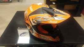 Vendo casco moto Cross talle S excelente estado muy poco uso