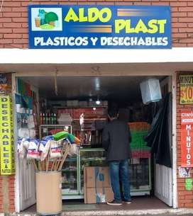 Negocio De Plásticos Y Desechables