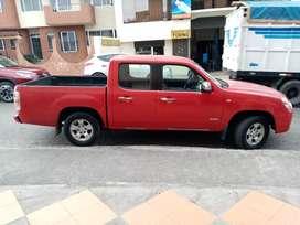 Mazda bt50 action