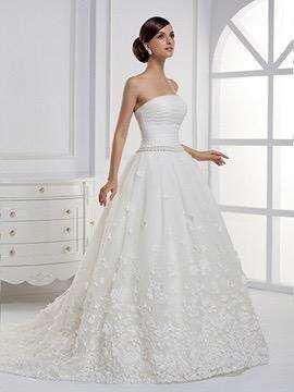 Vestido de novia talla grande - usado