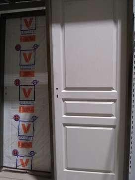 Puerta Interior Mdf Blanco 70cm