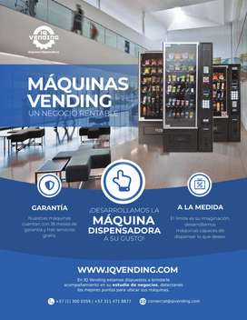 máquina dispensadora automática en Bogota