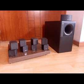Bose 5.1 cubos dobles Jewel y subwoofer Acoustimass 5 Marantz Yamaha Denon onkyo Technics sansui jbl