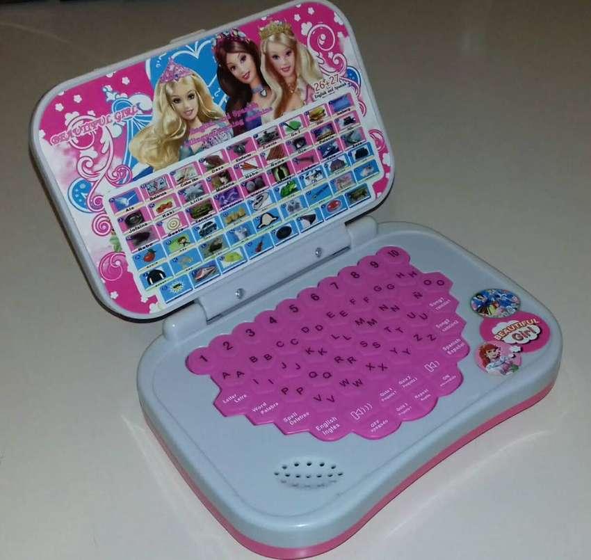 Computadora Didáctica Bilingüe para niñas Princesas 0