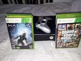 Xbox 360, 2 controles +28 juegos