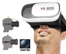 Gafas Realidad Virtual 3D, 360 VR BOX Para Android O IOS