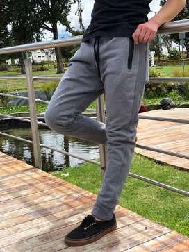 Pantalones Deportivos Para Hombre - Jogger Tela Algodón
