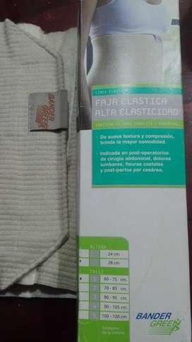 Faja elastica alta elasticidad