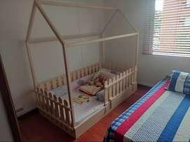 Cama Cuna Montessori Para Niña o Niño