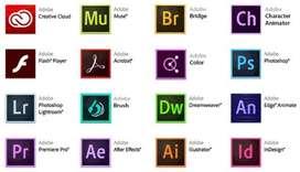 Paquete de Adobe Cc Original 2018