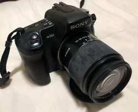 Cámara Sony Alpha 350 DSLR