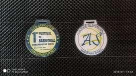Medallas en Acrílico Y Bronce