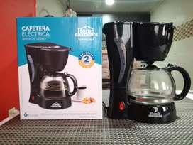 Cafetera electrica Home Elements - 6 tazas Nueva