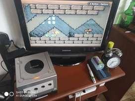 GameBoy Player para Nintendo Gamecube original con el disco original de arranque