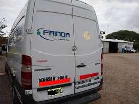 Sprinter Furgon 515, modelo 2014, excelente estado