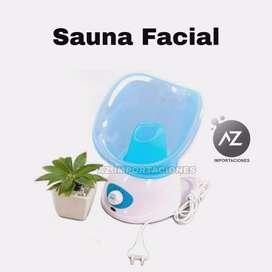 *Sauna facial*