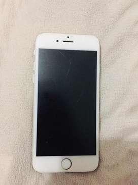 Venpermuto iphone 6 de 16 libre con fisura en pantalla