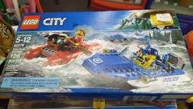 Original Lego  Huida Por Aguas Salvajes Int 60176