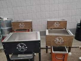 Cajas chinas y cilindros