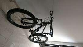Vendo MTB Jeep Vesubio, bicicleta M 27.5 triplato 7 velocidades Shimano tourney estado, 10/10