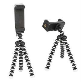 Mini trípode flexible Octopus portátil para Smartphone y cámaras deportivas