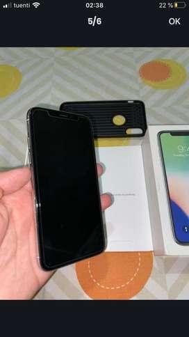 Iphone x de 64g 10/10