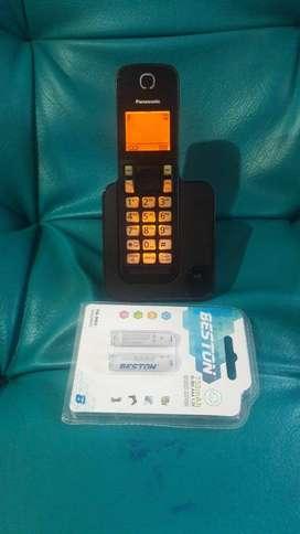 Panasonic con altavoz e identif. de llamadas