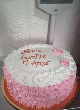 Por encargue hago tortas para cumples de 3 Kg $1700,2 Kg $1400