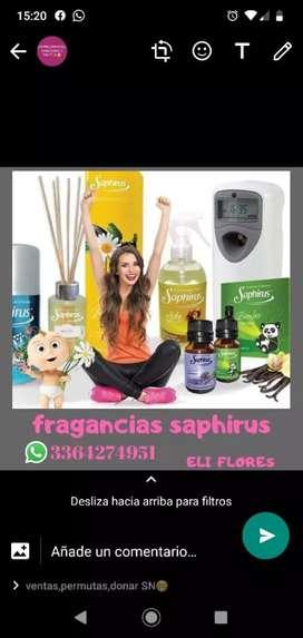 Saphirus y jabón líquido Milano
