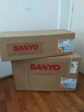 Aire acondicionado Sanyo Frío 2600W.