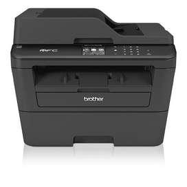 Impresora Multifuncional laser Monocromatico brother MFC-L2740DW -Negro