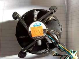 Disipador cooler para procesador intel socket 775