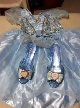 Vendo Vestido de Princesa Completo