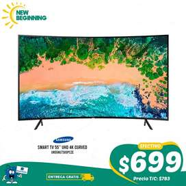 "Smart TV SAMSUNG UN55NU7300PCZE Curvo 55"" 4k UHD"