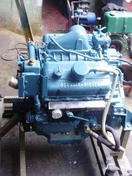 Motor  Detroit Diesel 6v 53 Nuevo Marino