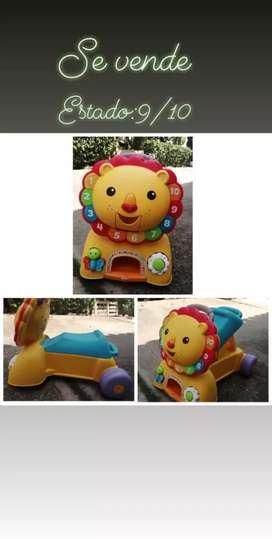 Tigre musical para niños de 1 a 3 años