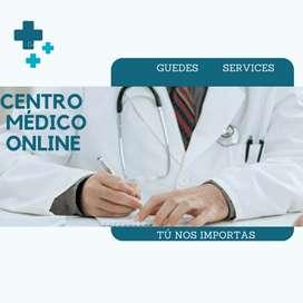 Cita médica GRÁTIS (Hasta agotar promoción) También tenemos ENFERMERÍA y MÉDICOS CIRUJANOS. Guedes Services